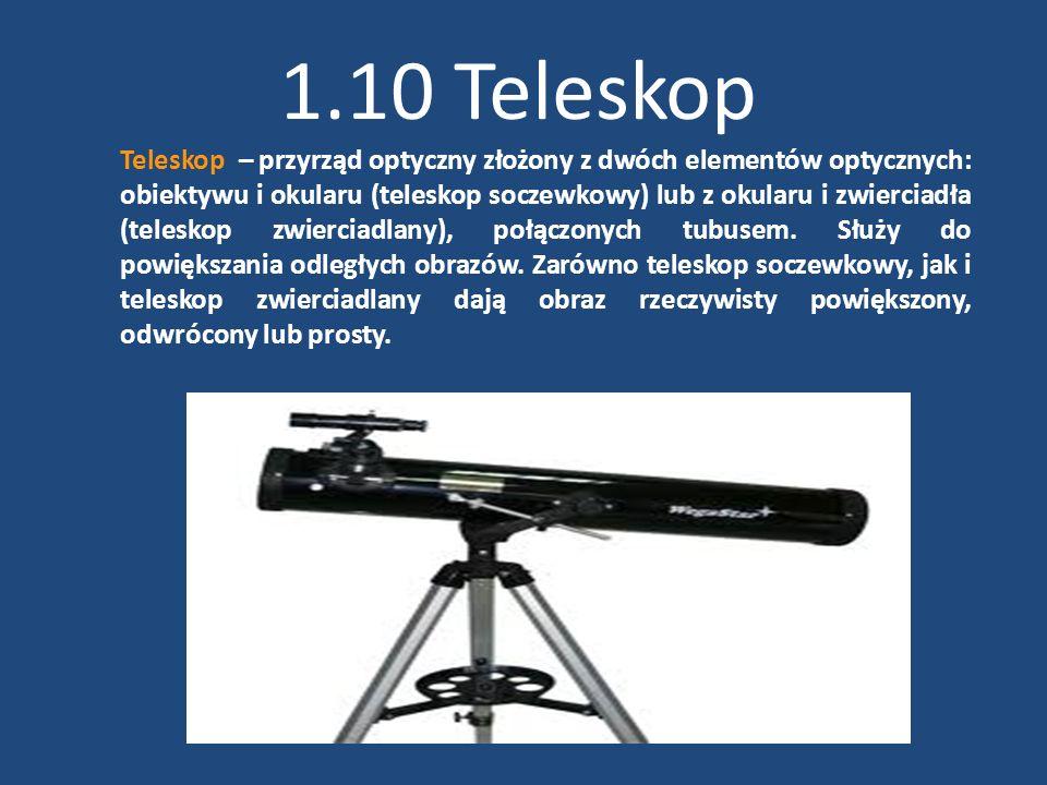 1.10 Teleskop