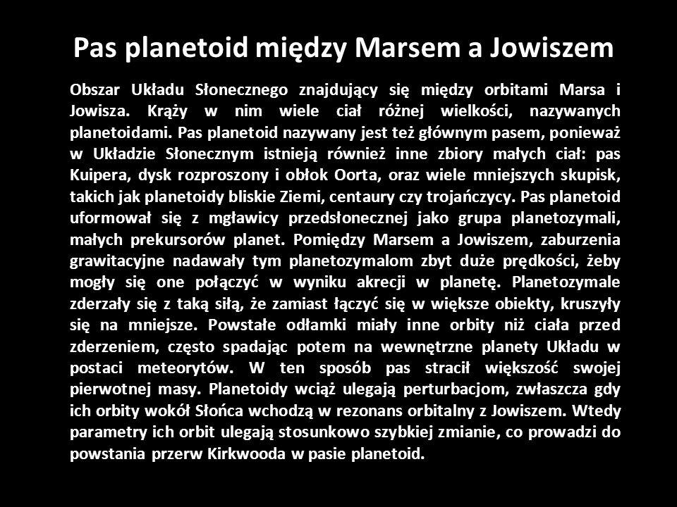Pas planetoid między Marsem a Jowiszem