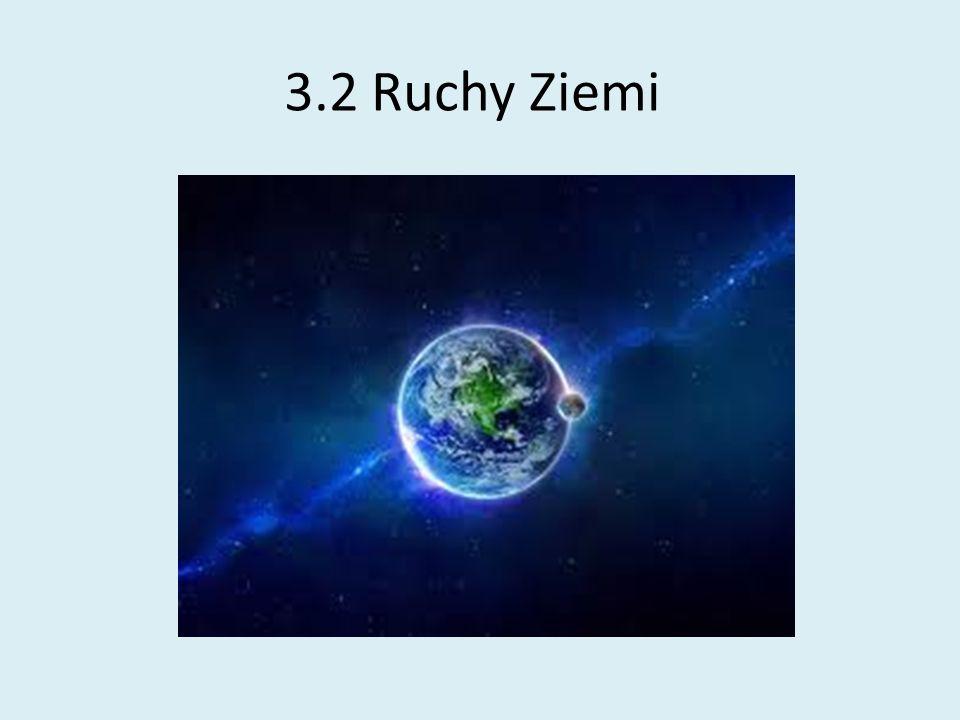 3.2 Ruchy Ziemi