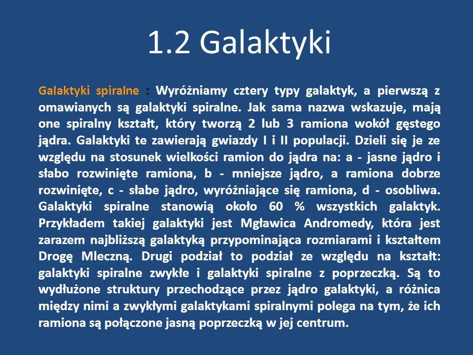 1.2 Galaktyki