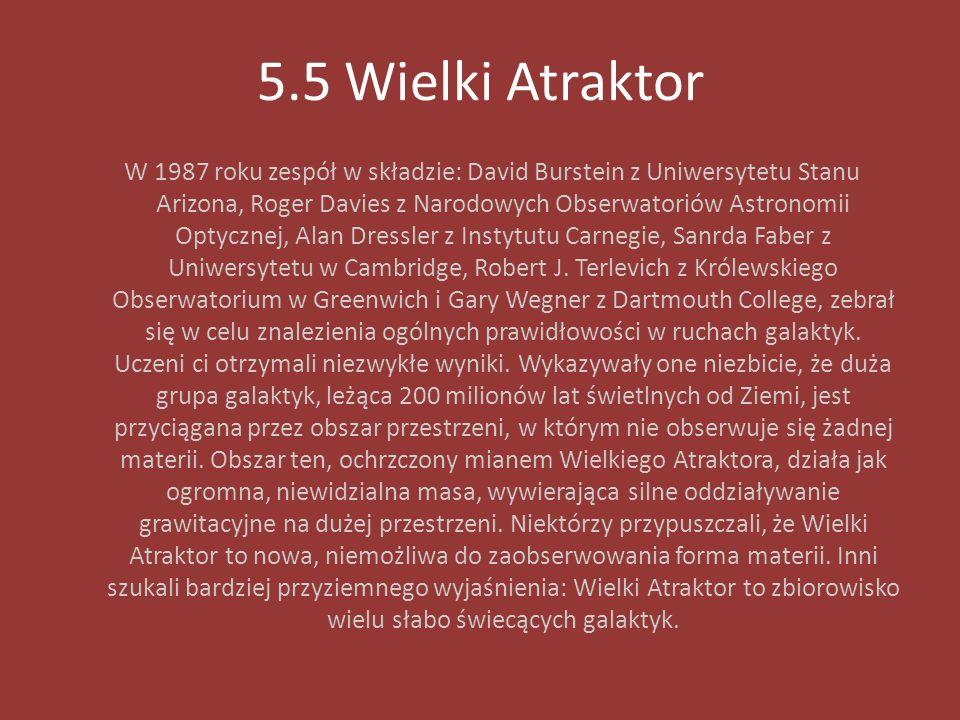 5.5 Wielki Atraktor