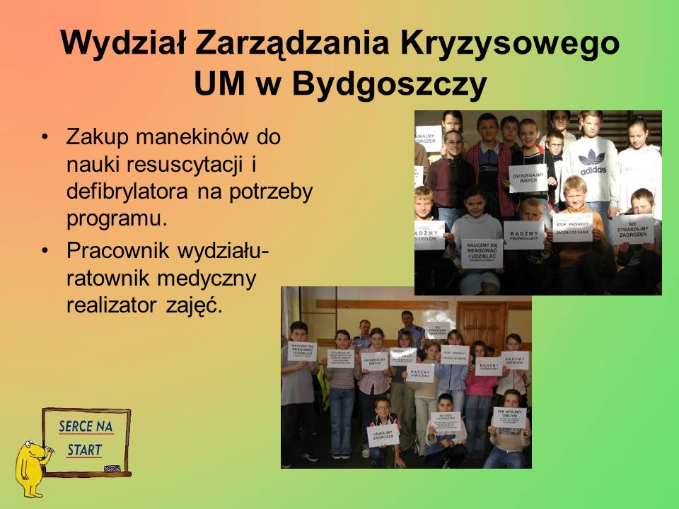 Wydział Zarządzania Kryzysowego UM w Bydgoszczy