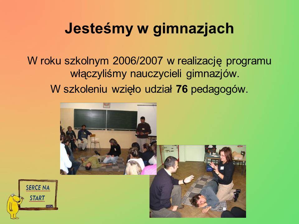 W szkoleniu wzięło udział 76 pedagogów.