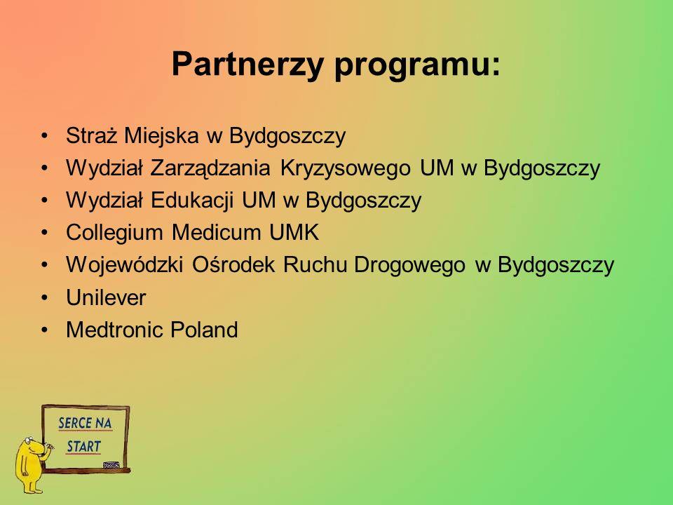 Partnerzy programu: Straż Miejska w Bydgoszczy