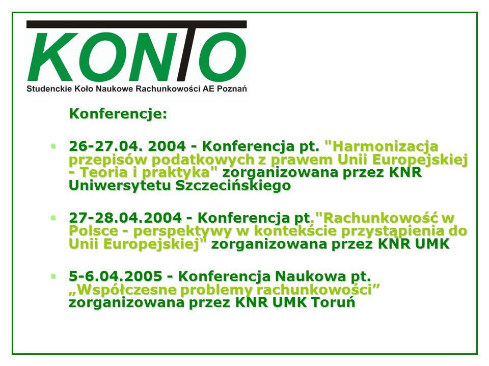 Konferencje: