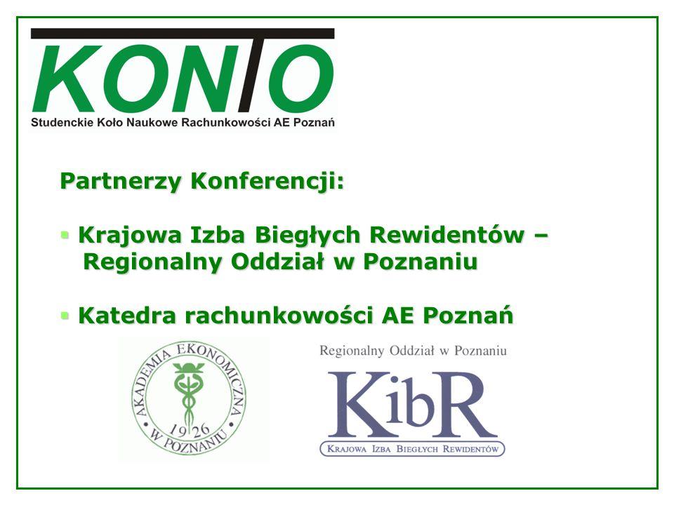 Partnerzy Konferencji:
