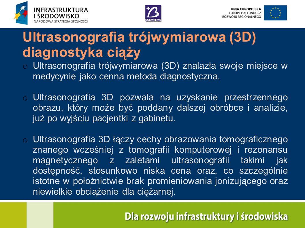 Ultrasonografia trójwymiarowa (3D) diagnostyka ciąży