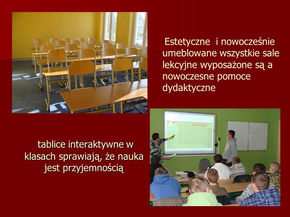 tablice interaktywne w klasach sprawiają, że nauka jest przyjemnością