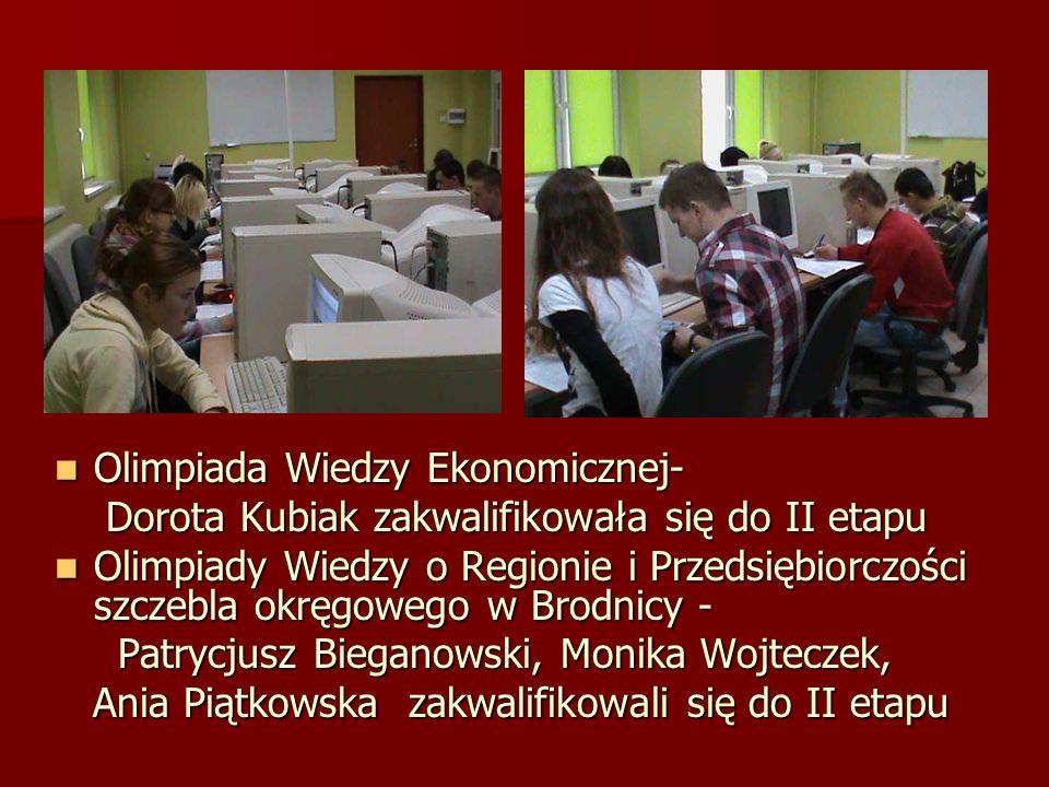 Olimpiada Wiedzy Ekonomicznej-