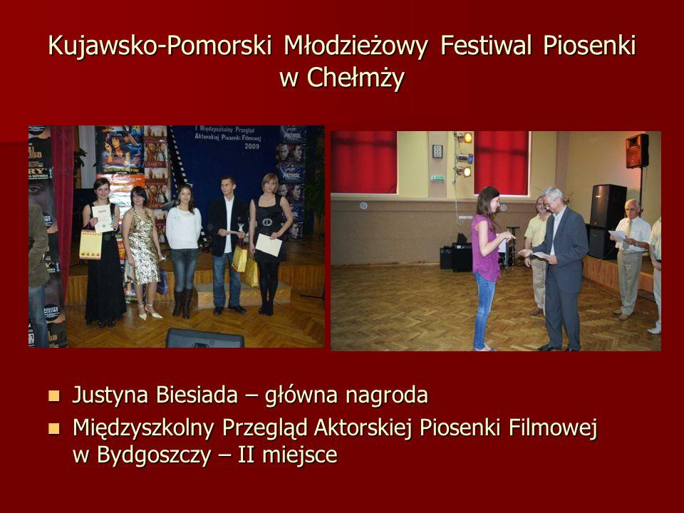 Kujawsko-Pomorski Młodzieżowy Festiwal Piosenki w Chełmży