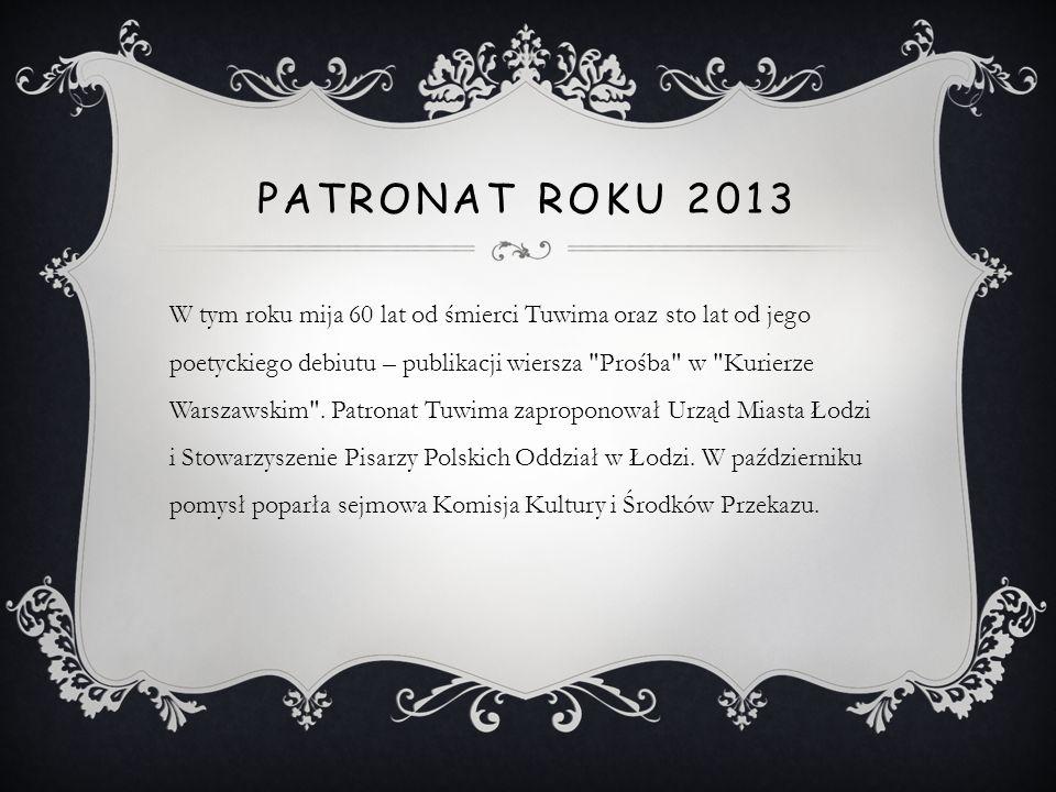 Patronat roku 2013