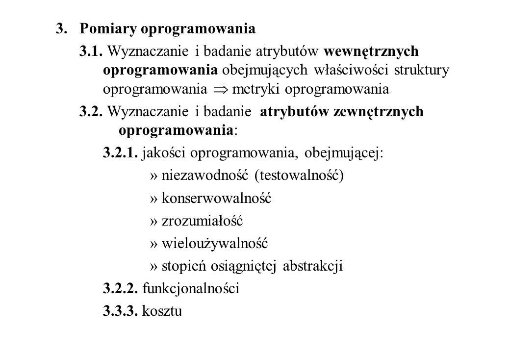3. Pomiary oprogramowania