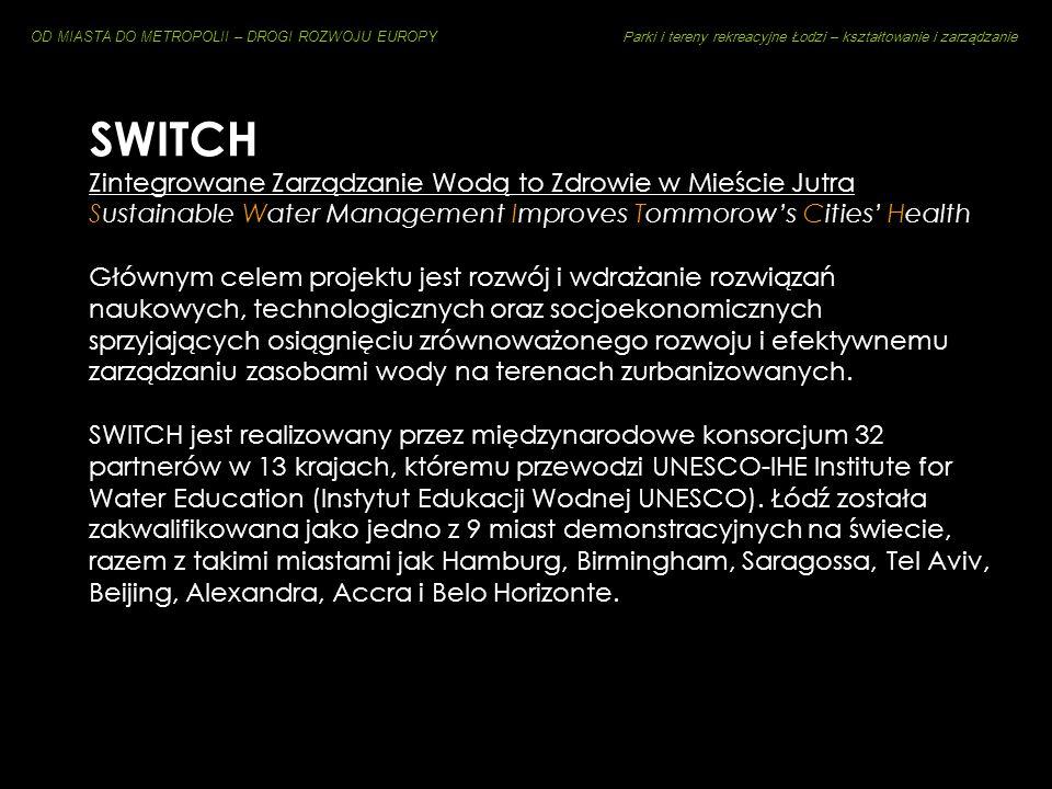 SWITCH Zintegrowane Zarządzanie Wodą to Zdrowie w Mieście Jutra