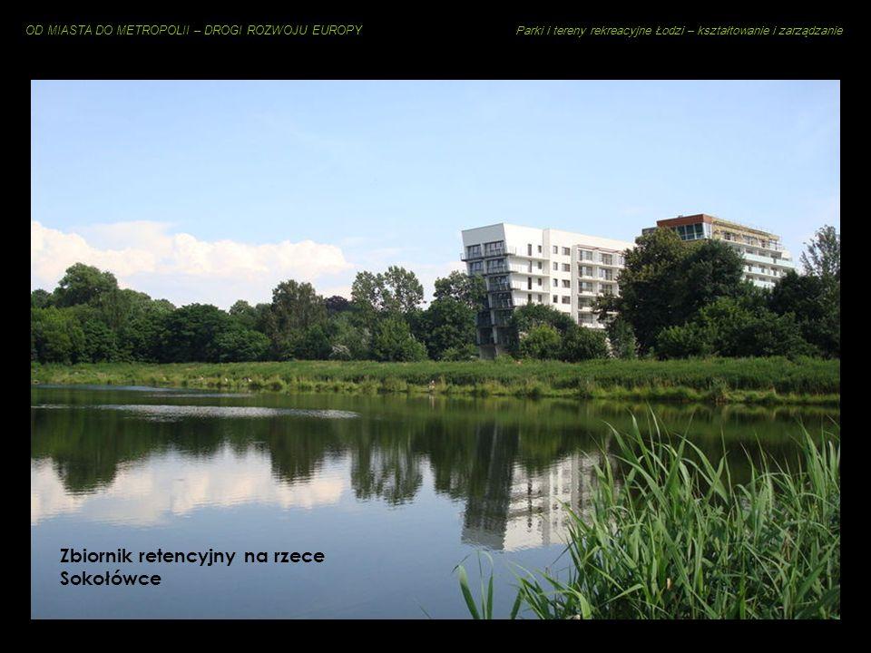 Zbiornik retencyjny na rzece Sokołówce