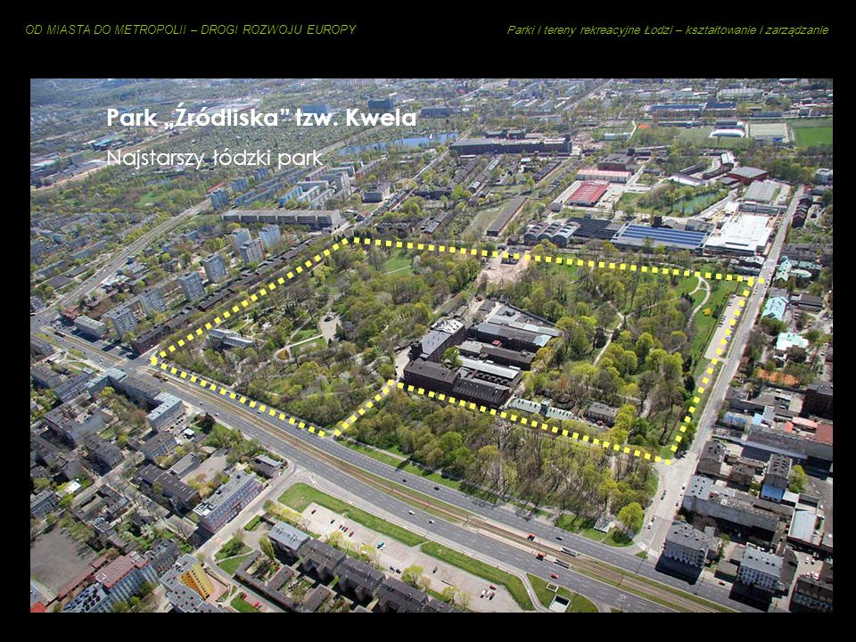 """Park """"Źródliska tzw. Kwela"""