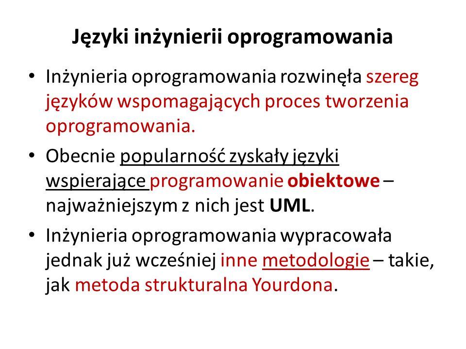 Języki inżynierii oprogramowania