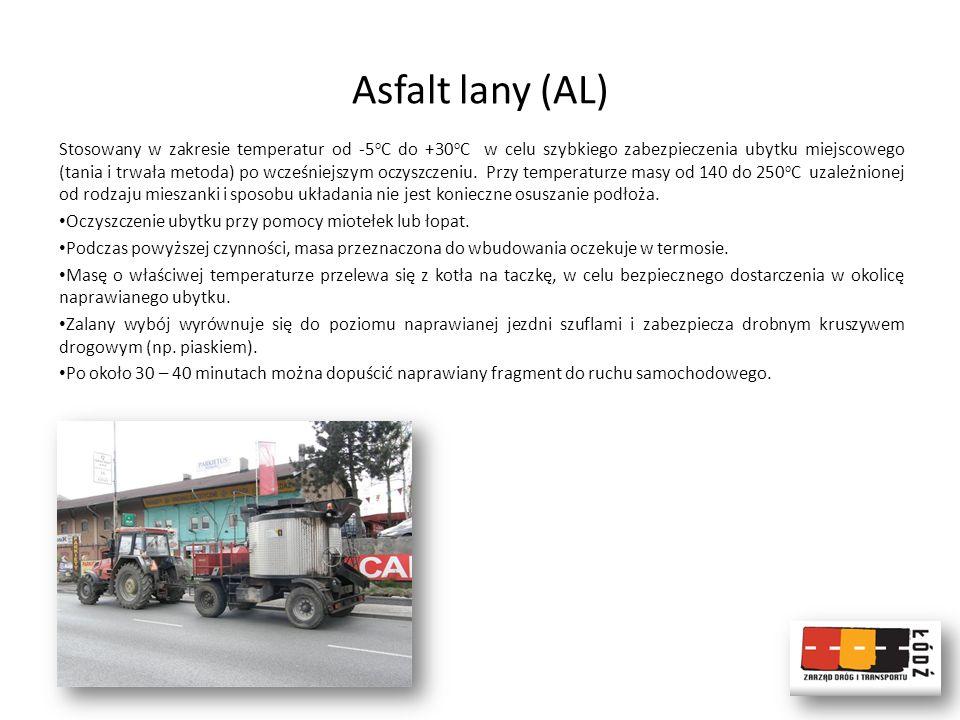 Asfalt lany (AL)