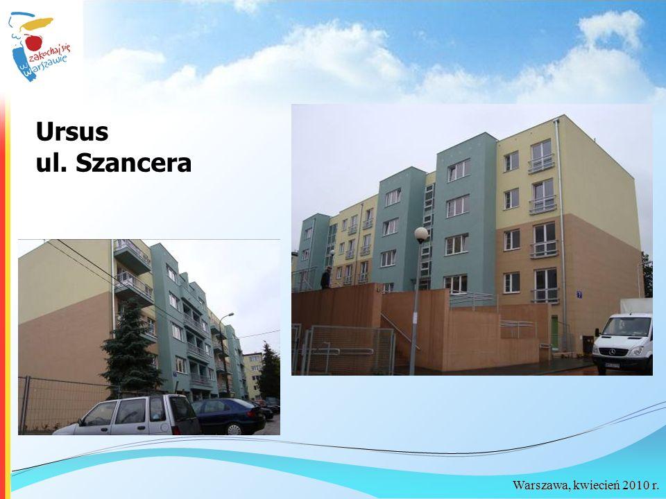 Ursus ul. Szancera