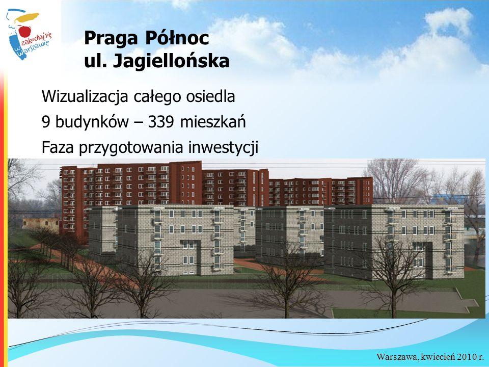 Praga Północ ul. Jagiellońska Wizualizacja całego osiedla