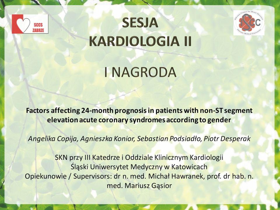 SESJA KARDIOLOGIA II I NAGRODA