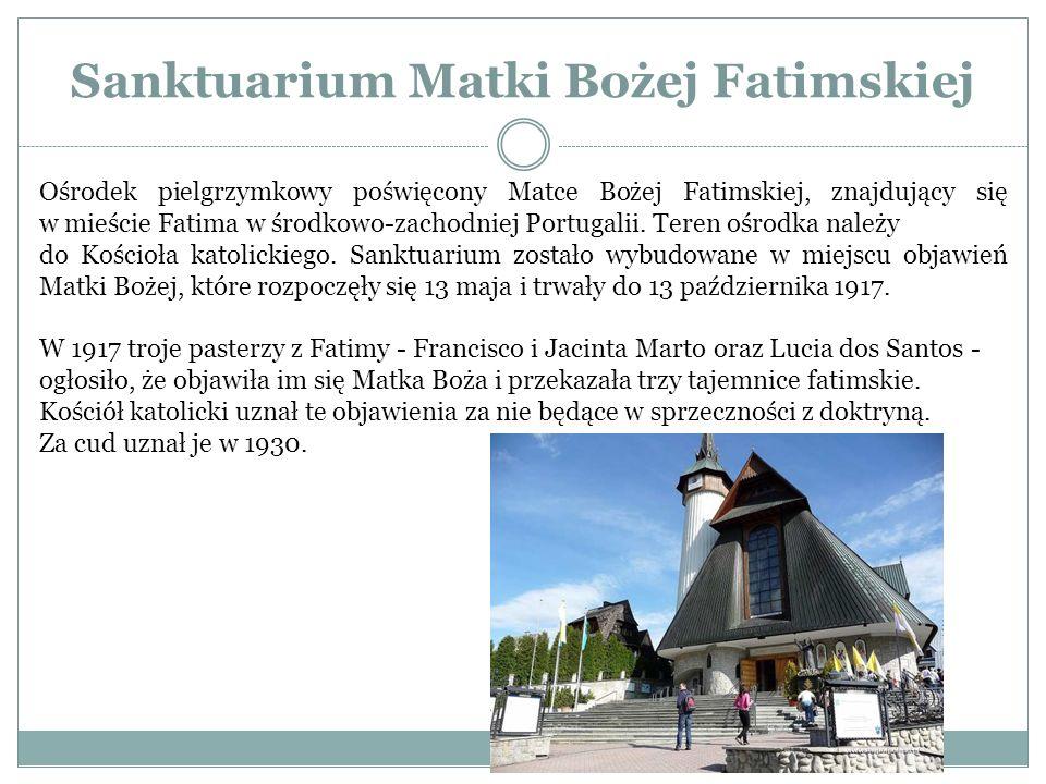 Sanktuarium Matki Bożej Fatimskiej