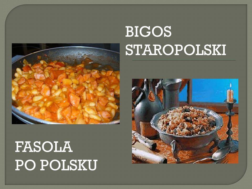 BIGOS STAROPOLSKI FASOLA PO POLSKU