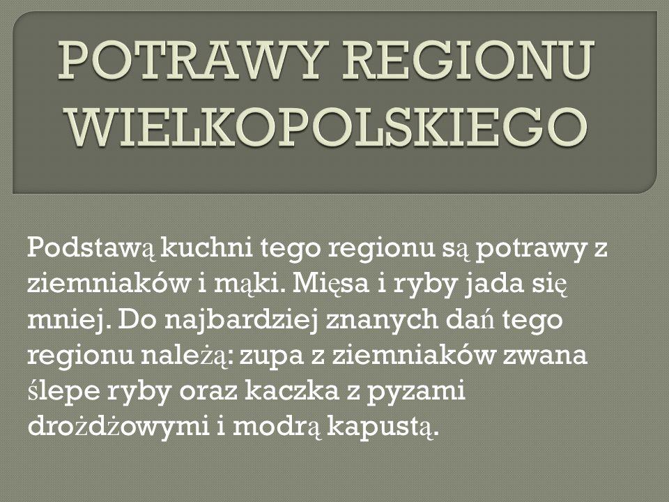 POTRAWY REGIONU WIELKOPOLSKIEGO