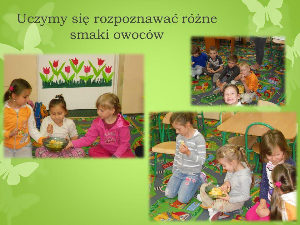 Uczymy się rozpoznawać różne smaki owoców