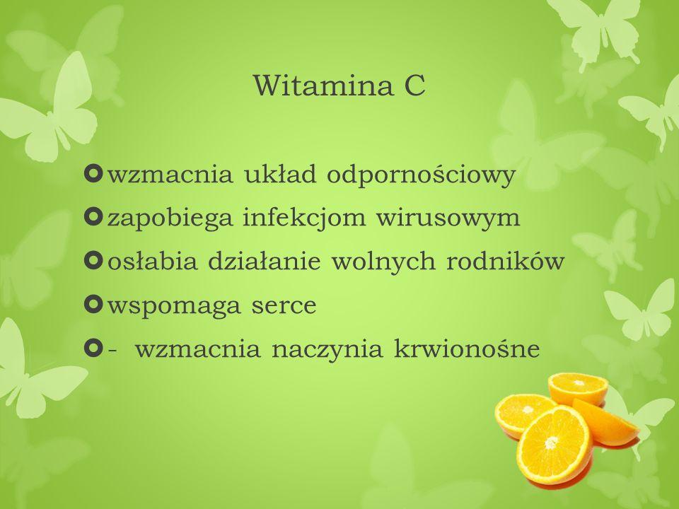 Witamina C wzmacnia układ odpornościowy zapobiega infekcjom wirusowym