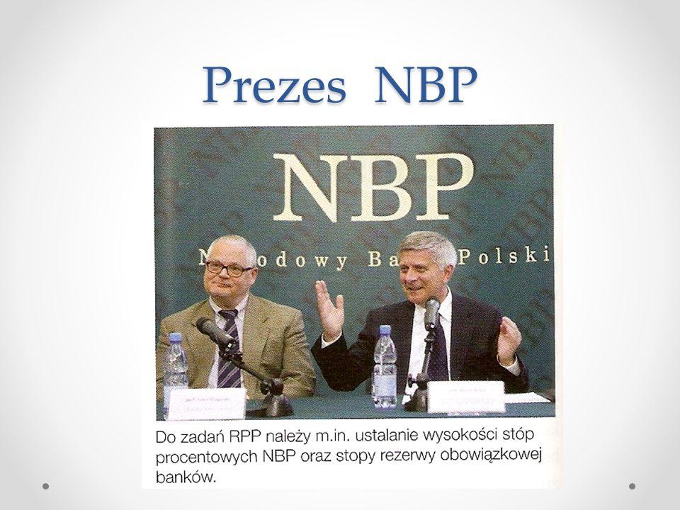 Prezes NBP