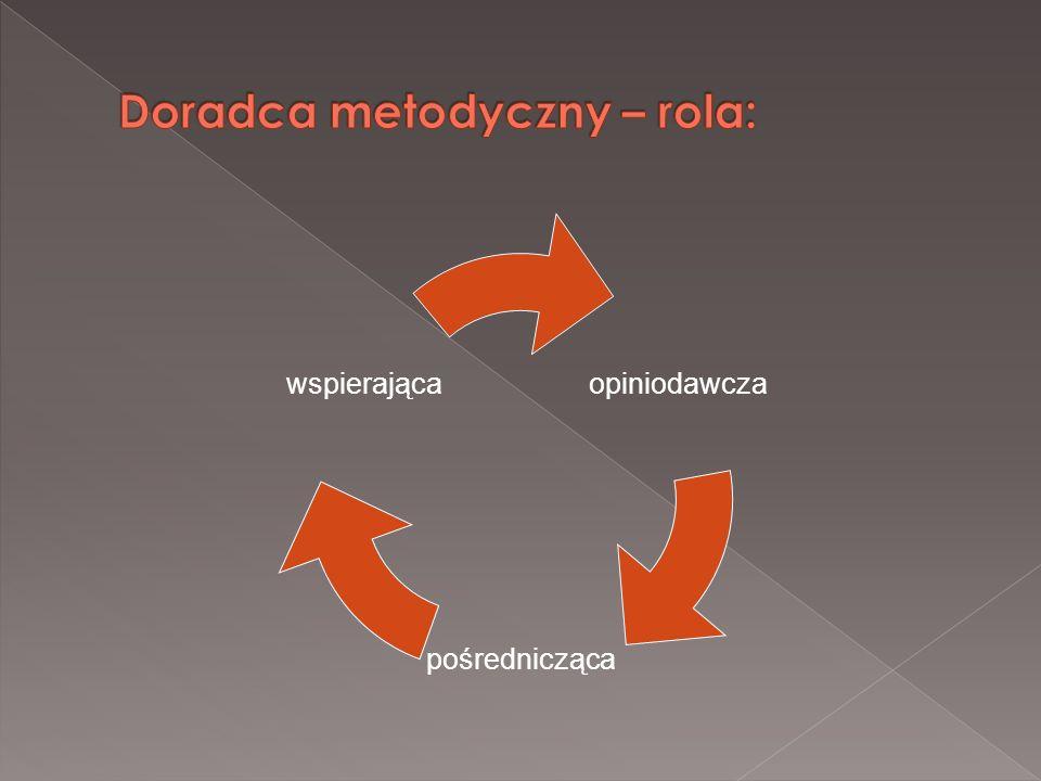 Doradca metodyczny – rola: