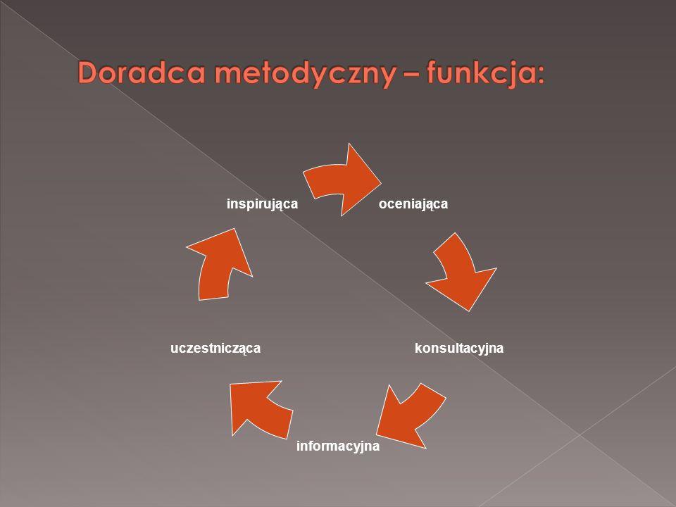 Doradca metodyczny – funkcja: