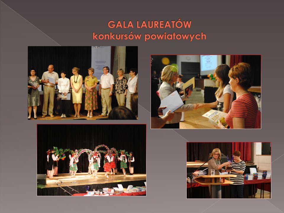 GALA LAUREATÓW konkursów powiatowych