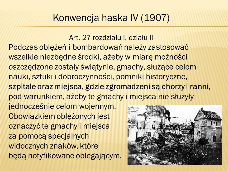 Art. 27 rozdziału I, działu II