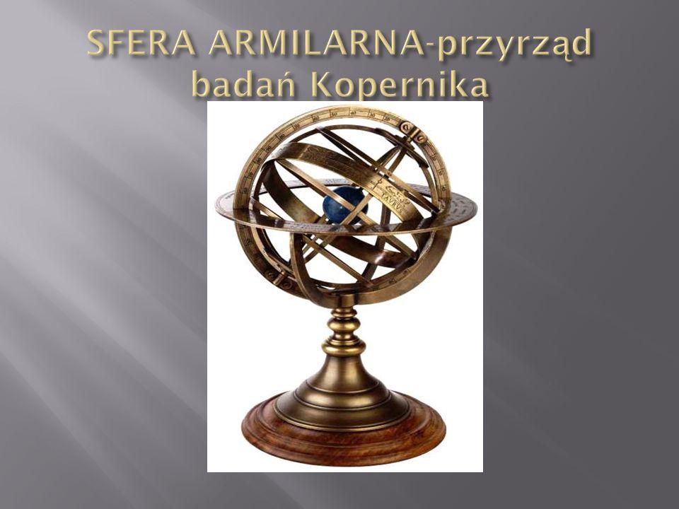 SFERA ARMILARNA-przyrząd badań Kopernika