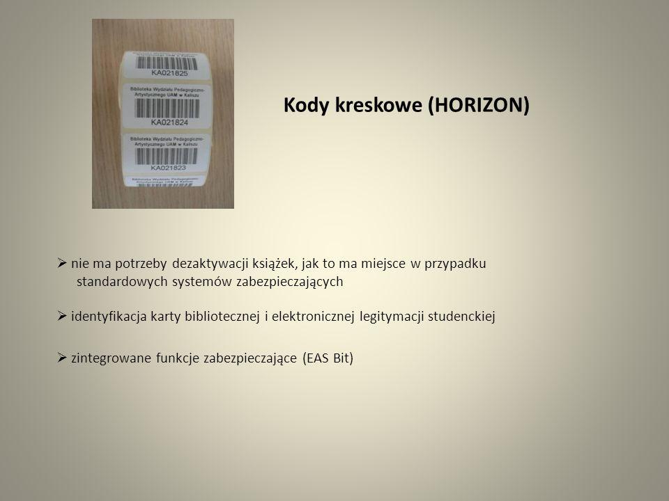 Kody kreskowe (HORIZON)