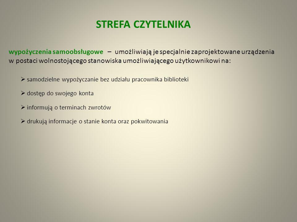 STREFA CZYTELNIKA