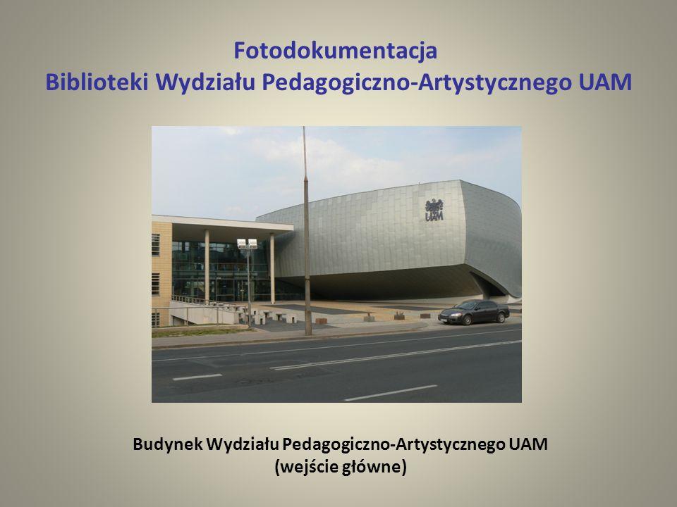 Biblioteki Wydziału Pedagogiczno-Artystycznego UAM