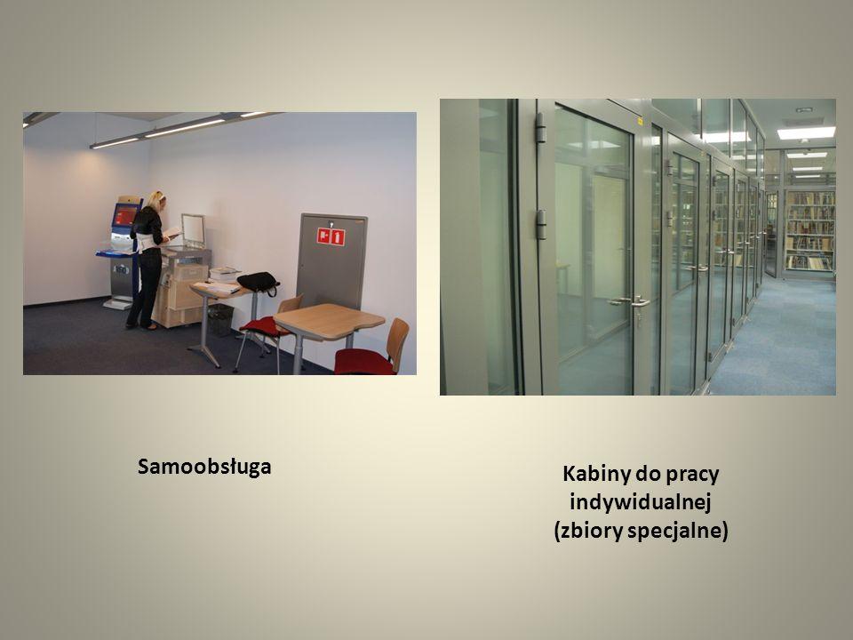 Kabiny do pracy indywidualnej (zbiory specjalne)