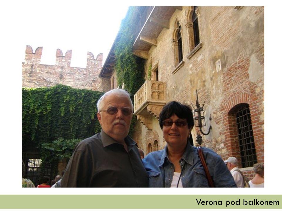 Verona pod balkonem