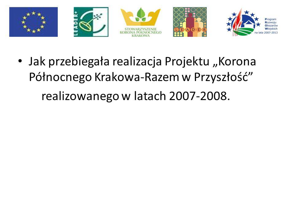 """Jak przebiegała realizacja Projektu """"Korona Północnego Krakowa-Razem w Przyszłość"""