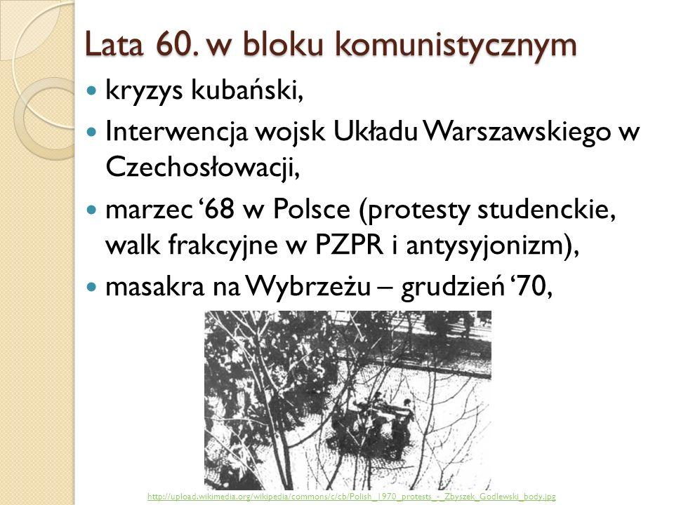 Lata 60. w bloku komunistycznym