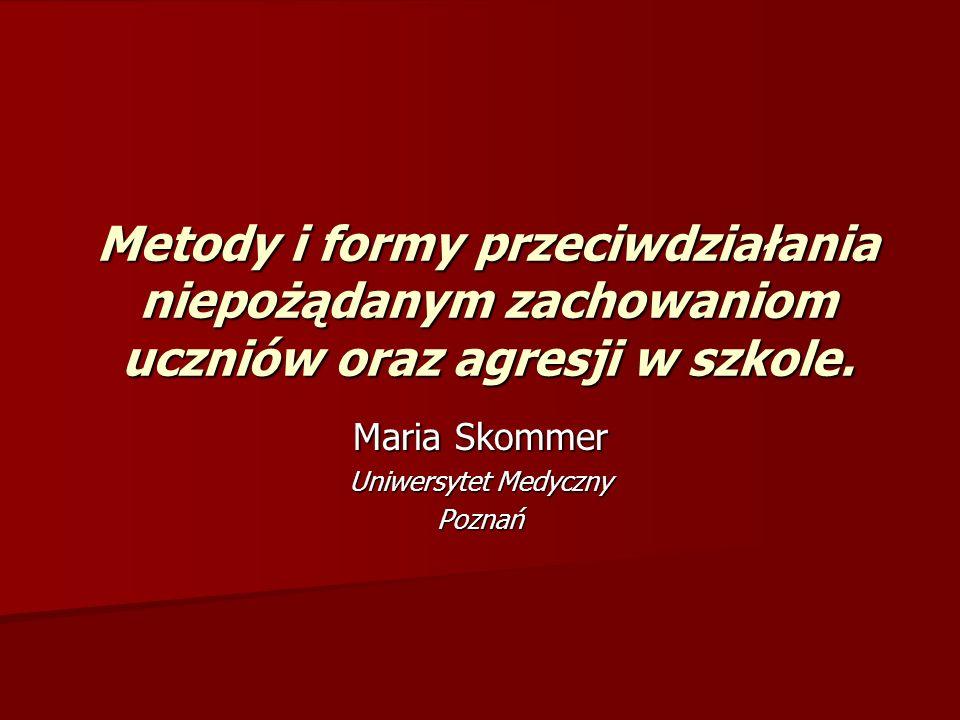 Maria Skommer Uniwersytet Medyczny Poznań