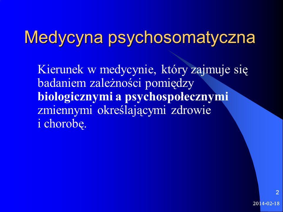 Medycyna psychosomatyczna