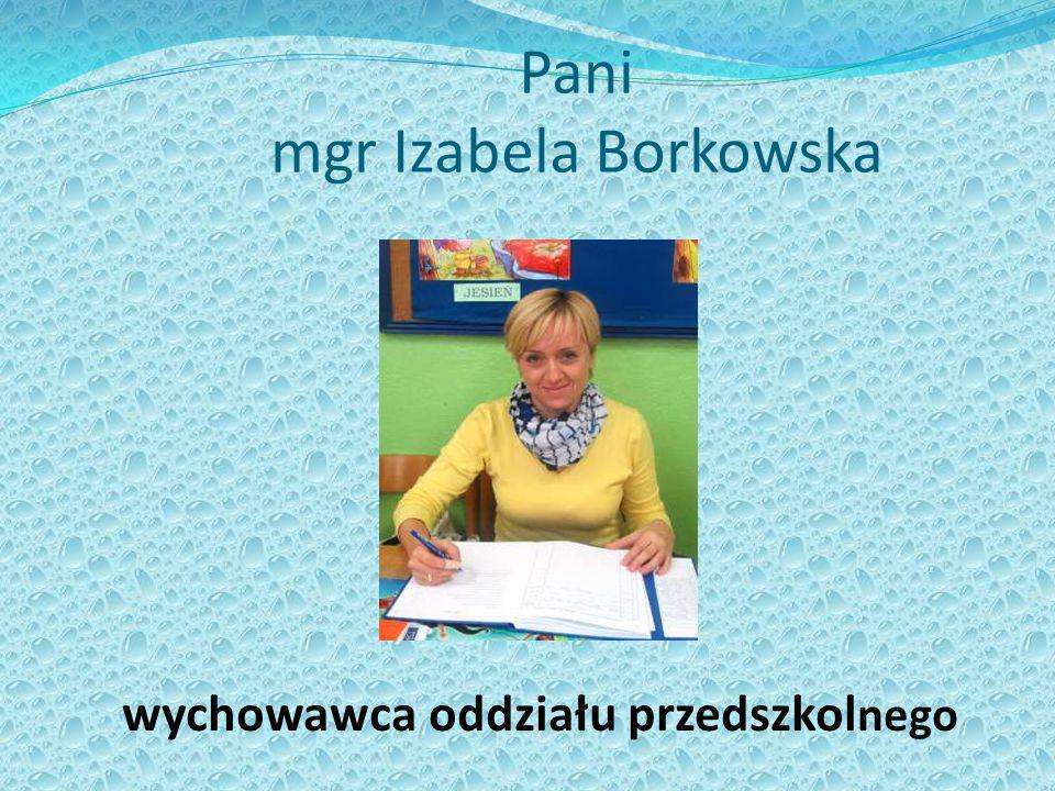 Pani mgr Izabela Borkowska