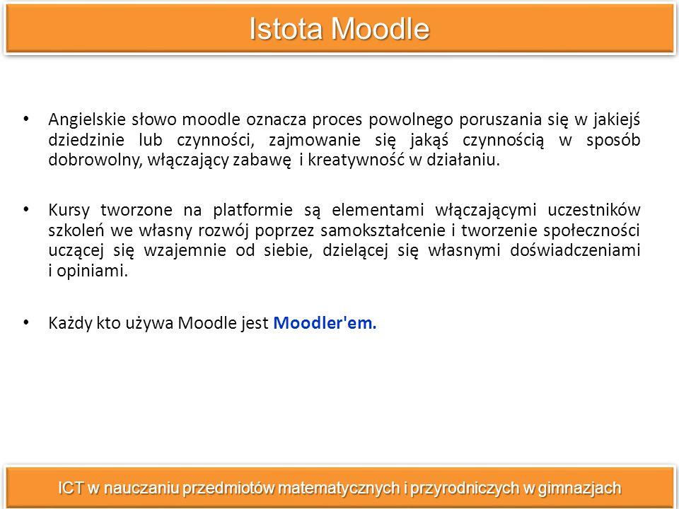 Istota Moodle