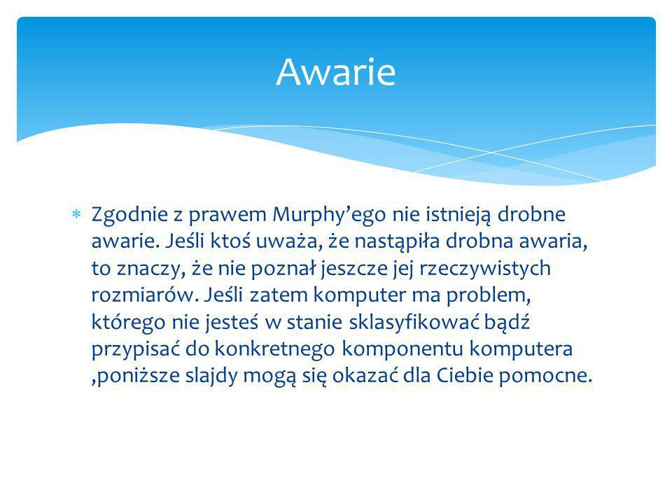Awarie