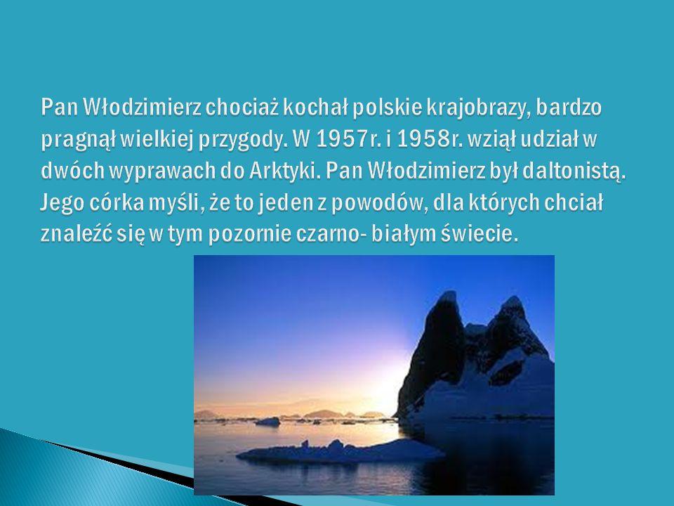 Pan Włodzimierz chociaż kochał polskie krajobrazy, bardzo pragnął wielkiej przygody.