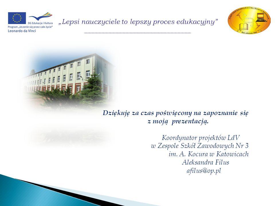 Koordynator projektów LdV