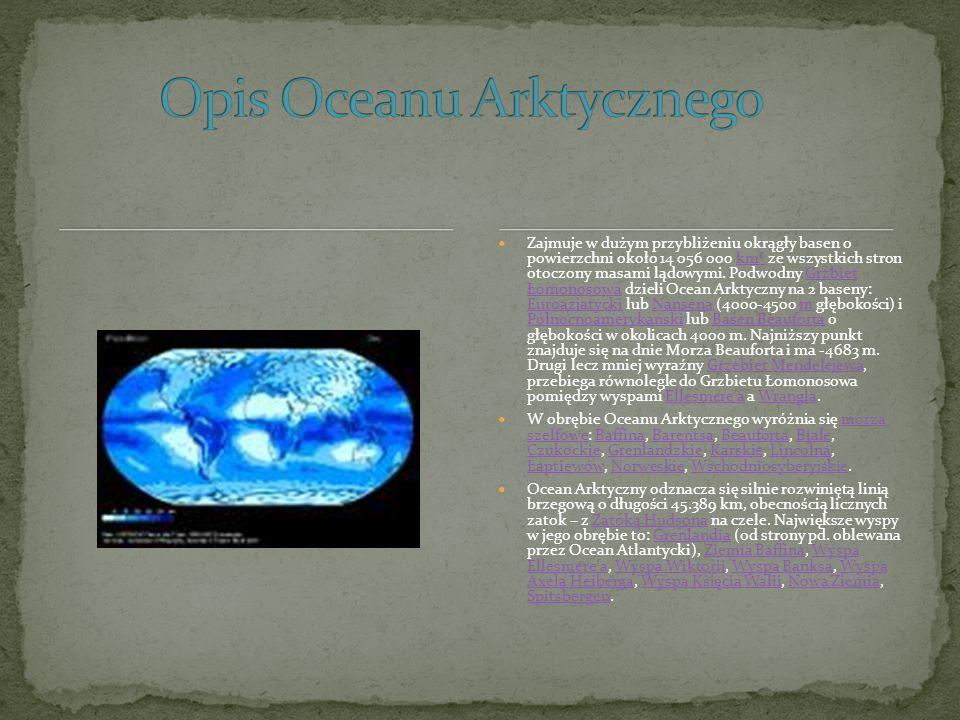 Opis Oceanu Arktycznego